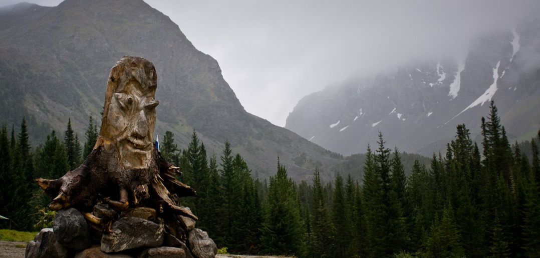 Хранитель Джойгана, Перевал Джойган, Тува, Фото