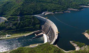 Саяно-Шушенская ГЭС, Хакасия, фото