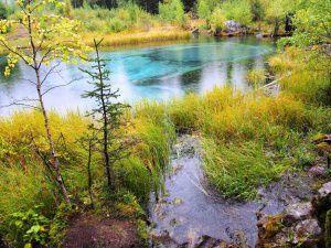 Гейзеровое озеро, Алтай, Акташ, фото
