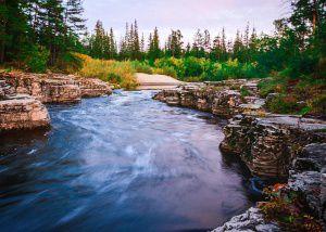Река Менда, Якутия, Фото
