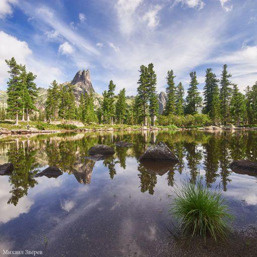 Озеро Тёплое, Природный парк Ергаки, фото