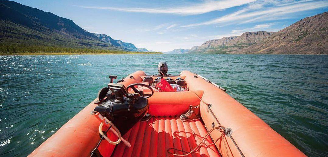 Озеро Лама, Плато Путорана, Фото