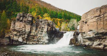 Водопад реки Шаалааш, Овюрский район Республики Тыва. Фото: instagram adatulush