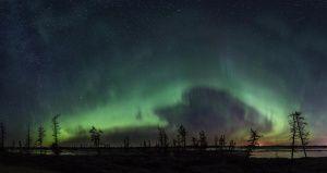 Полярное сияние, Ямал, Фото