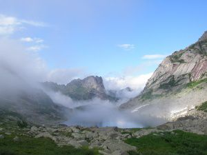 озеро Горных Духов, Ергаки, фото