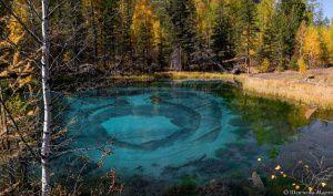 Гейзеровое озеро, Горный Алтай, фото