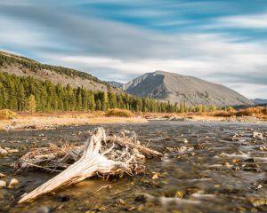 Река Большой Он, Саяны, Фото