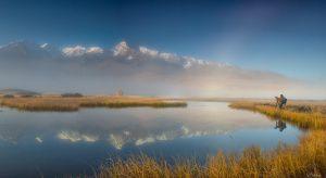 Озеро Джангысколь, Алтай, фото