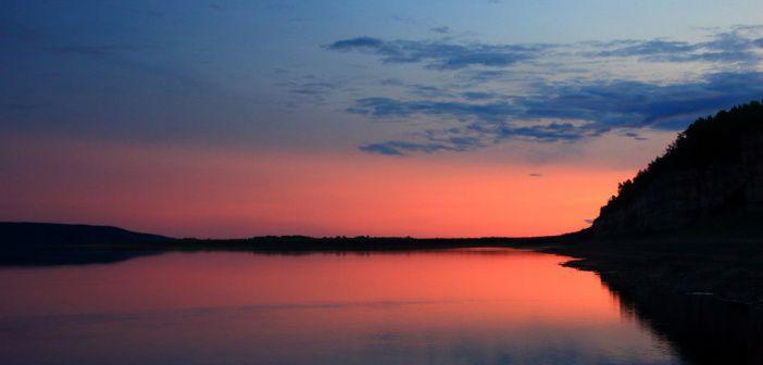 Закат на р.Лена, Якутия Фото: Чернышева Наталья