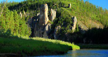 Синские столбы, Якутия, Фото