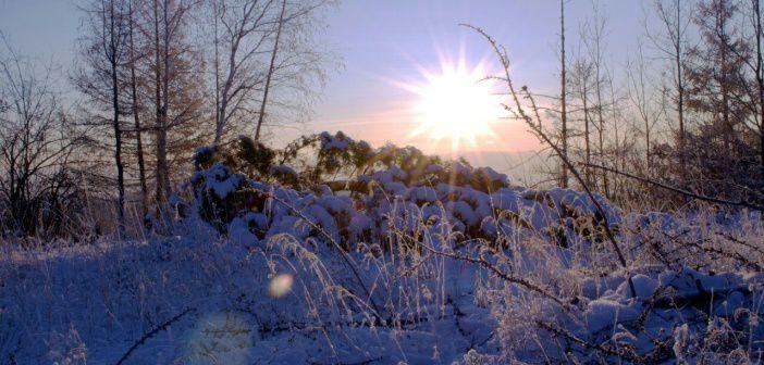 Рассвет в Читинском районе, Яблоневый хребет. Александр Косых