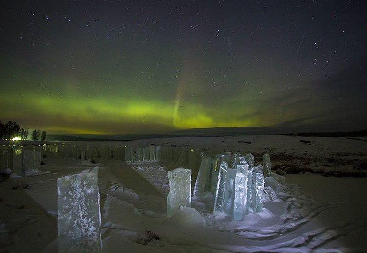 Полярное сияние, Якутия, Фото