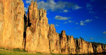 река Синяя, Синские столбы, Якутия, Фото