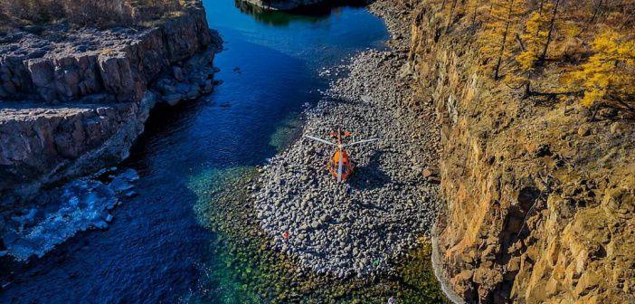 Рыбалка около водопада Маячин на Плато Путорана Фото: instagram rccam