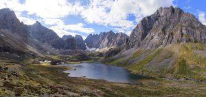 Озеро Угловое, Хребет Кодар, фото