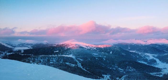 Зимние Ергаки — красота! Фото: instagram gelyaangelina