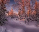 Первый дни января на Ямале Фото: instagram evgeny_kuzhilev