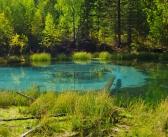 Гейзерное озеро, с. Акташ, Горный Алтай   фото: Валерия Сербинова