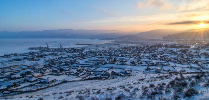Поселок Култук, Иркутская область.  Фото: Кирилл Буртасовский