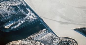 Братская ГЭС, фото