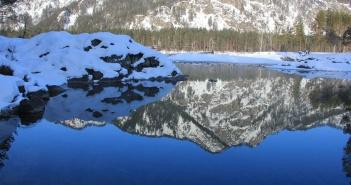 Голубые озёра, Катунь, Горный Алтай, фото