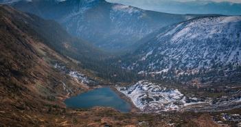 Озеро Сердце, Пик Черского, Иркутская область, фото