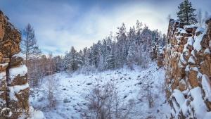 Олхинское плато, скальник Зеркала, Фото