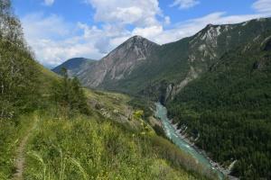 Тропа Тюнгур-Иня, Горный Алтай, фото