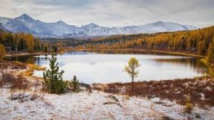 Алтайский этюд, озеро Киделю, фото