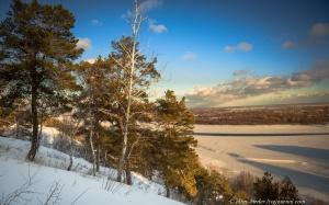 Обь, Барнаул, фото