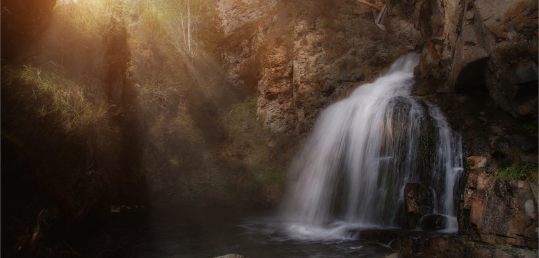 Алтай, Водопад Камышлинский, фото
