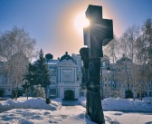 Омск, Памятник Достоевскому Фото: Андрей Кудрявцев