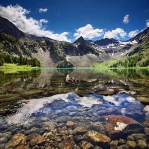 Озеро Крепкое, Алтай, Фото