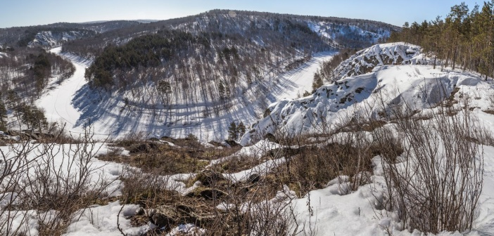 Новосибирская область. Бердские скалы фото: Анна Конева