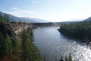 Река Ока, Окинский район, Республика Бурятия, фото