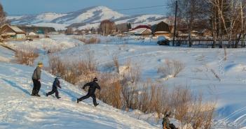 Село Красногорское, Чувыр, Елтош, Алтай, Фото