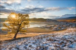 Республика Алтай, Северо-Чуйский хребет, озеро Джангысколь, Фото