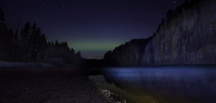 река Синяя. Природный парк «Ленские столбы». Фото: Павел Глушков