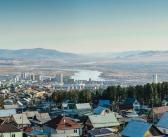 Улан-Удэ. Подснежники в конце апреля, или весна в Сибири! Фото: Дабаев Даба