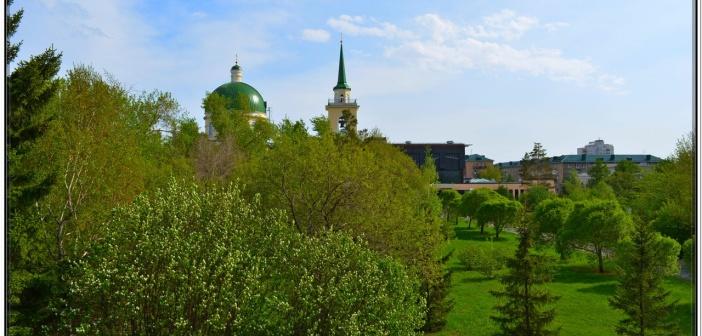 ОМСК. Весенне настроение   фото: Сергей Серебрянников
