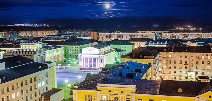 Норильск и его окрестности))   фото: Михаил Кутявин
