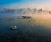 Красноярск. Туман. Фото: Роман Черкасов