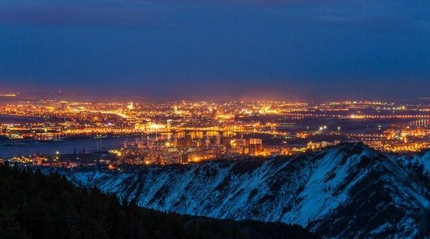 Красноярск с высоты.  Фото: Сергей Филинин