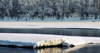 Река Томь, Новокузнецк, Фото