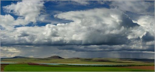 озеро Белё, Хакасия, Сибирь, Фото