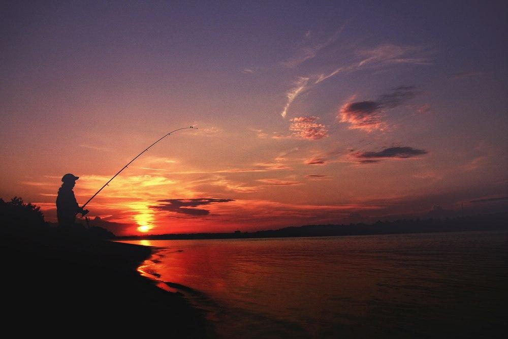 На рыбалке. Иртыш