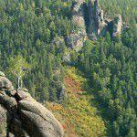 Вид на гору Ермак