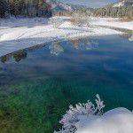 Сибирь. Голубые озера.