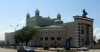 Бурятский театр оперы и балета после реставрации