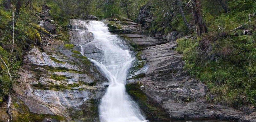 Водопад на реке Шинок